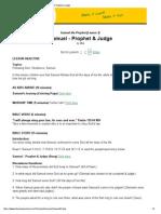 1. Prophet & Judge