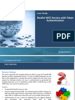 Restful WCF Service With Token Authentication for Proutility FundingStatement