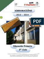 CEIP O CASTIÑEIRO - PROGRAMACIÓN 3º CICLO - 2013-14