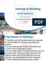 Importance of Welding
