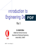 ME 407 - Introduction to Design - Part 1