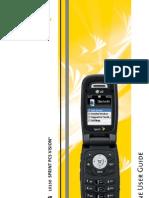 LG LX150 User Guide