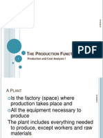 production Function maims