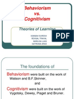 Pp Behaviourism vs Cogntivism