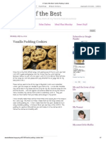 A Taste of the Best_ Vanilla Pudding Cookies