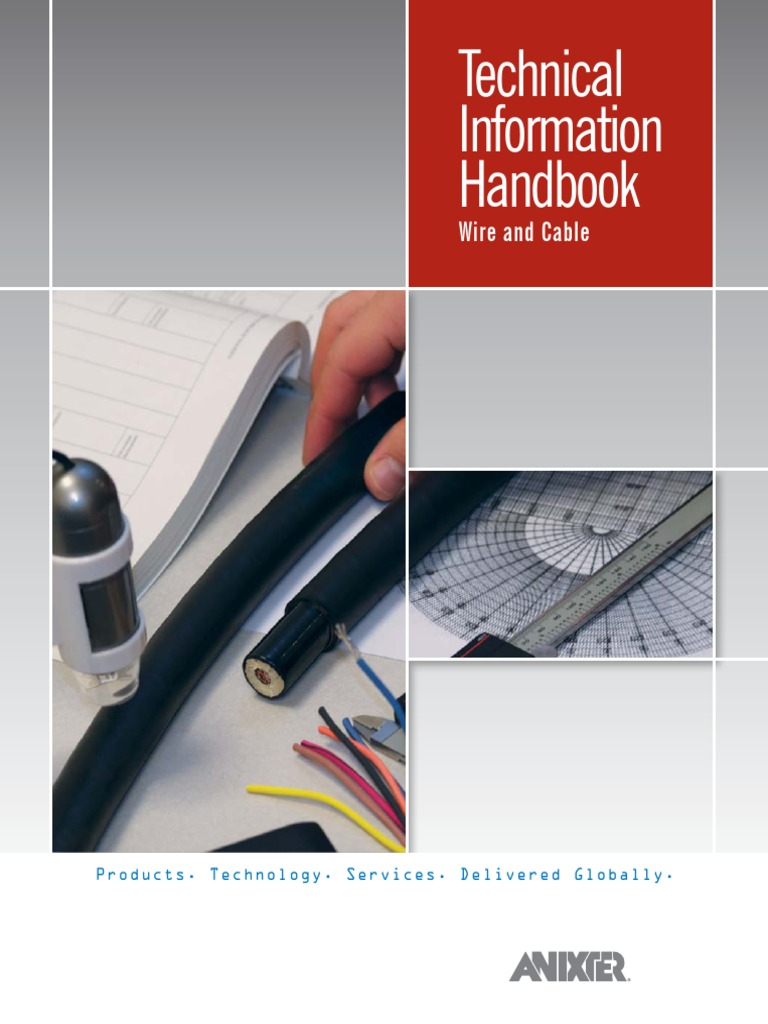 Techinical information handbook wire and cable.pdf | Electrical ...