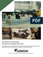 Automotive Assembly - Mobile Robot AGV - Flyer