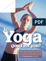 Yoga - Is it really good for you?