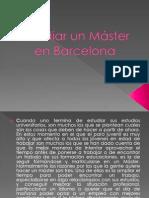 Estudiar un Máster en Barcelona