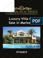 Luxury Villa for Sale Marbella | R760825 | Vivienda Real Estate