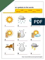 Weather Symbols Activity