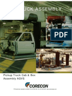 Assembly Line Automation - Pickup trucks - AGVS