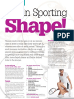 Get into sporting shape...