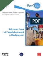 Agir pour l'eau et l'assainissement à Madagascar Guide pratique pour les acteurs de la coopération décentralisée et non gouvernementale