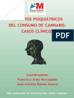 Aspectos Psiquiatricos Del Consumo de Cannabis Casos Clinicos
