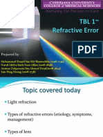 TBL 1- Refractive Error Slides Ppt