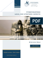Machiavelli Editions Cyber Weapons Legal and Strategic Aspects V2.0
