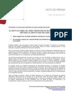 Ángel Ron y Abelias Certificación Leed Oro