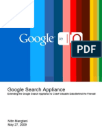 Extending the Google Search Appliance to Crawl Valuable Data Behind the Firewall