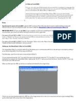 VBA for Excel Lesson 1