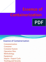 Essence of Containerization