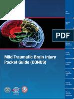 PSY TBI Mild Traumatic Brain Injury Pocket Guide