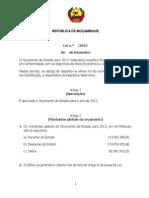 Proposta de Lei OE 2013
