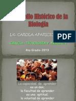 Des Arrollo His Tricode La Biolog A