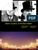 ppt on Edwin Lutyens and Herbert Baker