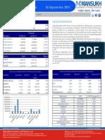 Daily Derivative Report 19.09.13