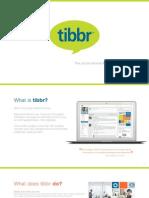 Tibbr Brochure, rel. 4.0
