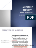 Basic Principles of Audit Theory