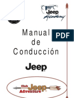 Manual Conduccion offroad Jeep