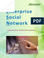 Alycante Brochure Enterprise Social Network