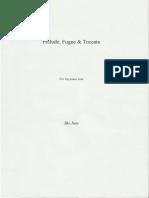 Prelude,Fugue & Toccata by Shi Jian