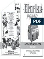 G900 Portable Generator Instructions