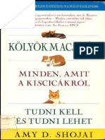 Kölyökmacskák - minden, amit a kiscicákról tudni kell és tudni lehet [by A.D.Shojai] (ocr)