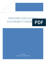 Sustainability Assignment ENGG1000 Janush Adabjou