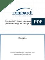 Effective GWT