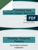 PPT Kelompok 6 - Bahan Tambahan