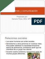 Relaciones y Comunicaciones