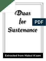 Dua for Sustenance