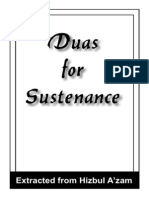 Dua for Sustenance