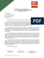 Declaración Oral de Servas internacional ONU 10 Sep 2013