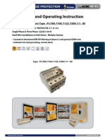 Surge Protector - Installation Instruction Type-PI 1_1-BS (http://shop.acdc-dcac.eu/)