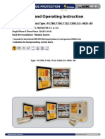 Surge Protector - Installation Instruction Type PI 3_3 MCB BS (http://shop.acdc-dcac.eu/)