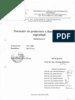 Normativ de Proiectare Fundatiilor de Suprafata