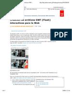 Adobe InDesign - Creación de archivos SWF (Flash) interactivos para la Web
