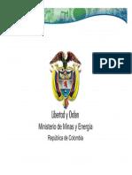Ciclo de producción del uranio. Ministerio de Minas y Energía