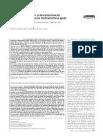 Eficacia y seguridad de la descontaminación digestiva en intoxicacion medicamentosa aguda